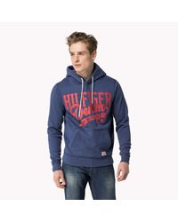Tommy Hilfiger | Blue Cotton Blend Sweater for Men | Lyst