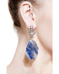 Bochic | Black Sapphire and Diamond Earrings | Lyst