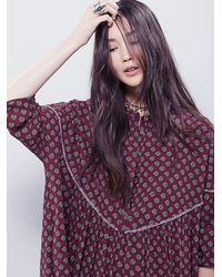 Free People | Red Womens Charade Dress | Lyst