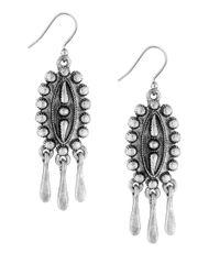 Lucky Brand | Metallic Silvertone Squash Earrings | Lyst
