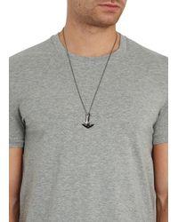 Miansai | Metallic Silver Tone Anchor Necklace for Men | Lyst