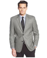 Michael Kors - Michael Black & White Check Sport Coat for Men - Lyst