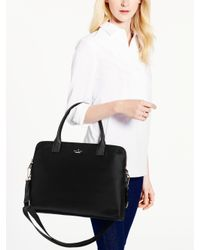 Kate Spade | Black Classic Nylon Daveney Laptop Bag | Lyst