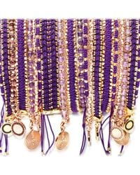 Astley Clarke - Purple Violet Berry Cosmos Stones Bracelet - Lyst