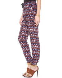 Charlie Jade - Multicolor Printed Pants - Lyst
