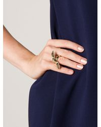 Jennifer Fisher | Metallic Ribbon Ring | Lyst