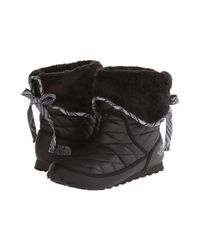 The North Face - Black Thermoball™ Roll-down Bootie Ii - Lyst