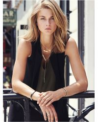 BaubleBar | Metallic Get Personal Y-chain Necklace-gold | Lyst