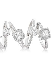 Astley Clarke - Metallic Diamond 107ct Princess Cut Ring - Lyst