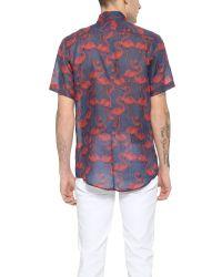 Marc Jacobs | Blue Flamingo Shirt for Men | Lyst