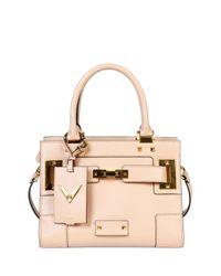 Valentino - Pink My Rockstud Mini Top-handle Tote Bag - Lyst