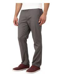 Quiksilver - Gray Union Pant for Men - Lyst