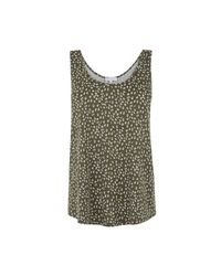 Warehouse - Multicolor Dotty Seed Scoop Vest - Lyst