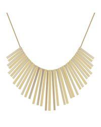 J By Jasper Conran - Metallic Designer Multi Stick Fan Necklace - Lyst