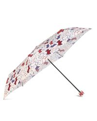 Radley Multicolor Speckle Dog Mini Telescopic Umbrella