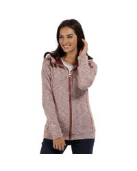 Regatta - Red 'ramosa' Fleece Hoody - Lyst