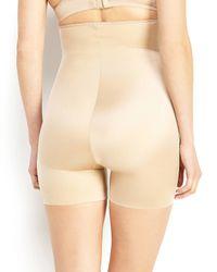 Spanx   Natural Simplicity High-Waist Girl Shorts   Lyst