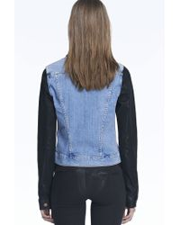 J Brand | Blue 403 Slim Fitted Jacket | Lyst