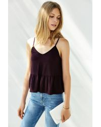 Truly Madly Deeply | Purple Babydoll Cami | Lyst