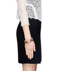 Assad Mounser | Multicolor Floral Rhinestone Bracelet | Lyst