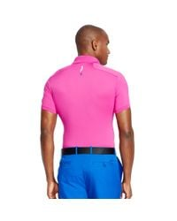 Ralph Lauren - Pink Tailored-fit Polo Shirt for Men - Lyst