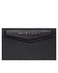 Givenchy - Black Antigona Medium Leather Clutch - Lyst