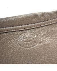 Zanellato - Multicolor Taupe Leather Postina Daily Clutch - Lyst