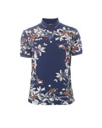 Dolce & Gabbana | Multicolor Bird-print Cotton-jersey T-shirt for Men | Lyst