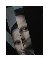 Neil Barrett - Printed Black Cotton T-shirt for Men - Lyst