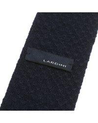 Lardini - Blue Wool Tricot Tie for Men - Lyst