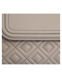 Tory Burch | Natural Beige Leather Fleming Bag | Lyst