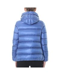 Moncler - Blue Vos Short Quilted Jacket - Lyst