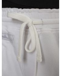 Amen - White Cotton Jogging Trousers - Lyst