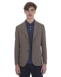 Boglioli | Natural Beige Cotton Jacket for Men | Lyst