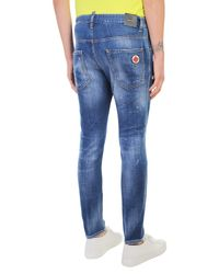 DSquared² - Blue Denim Skater Jeans for Men - Lyst