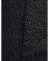 Fabiana Filippi - Black Virgin Wool And Cashmere Trousers - Lyst