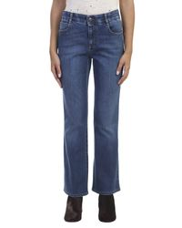 Stella McCartney - Blue Denim Skinny Kick Jeans - Lyst
