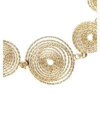 Rosantica - Metallic Stone Long Beaded Chain Necklace - Lyst