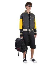 Rick Owens - Black Low Crotch Cotton Shorts for Men - Lyst