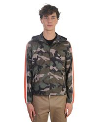 Valentino - Multicolor Nylon K-way Jacket for Men - Lyst