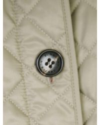 Burberry - Multicolor Quilted Beige Ashurst Jacket - Lyst