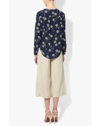 Derek Lam - Multicolor High-waisted Culotte - Lyst