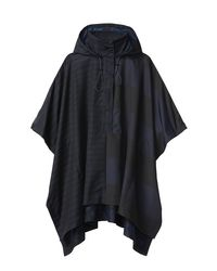 Derek Lam - Black Stripe Space Poncho - Lyst