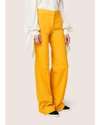 Derek Lam - Multicolor Wide Cuff Trouser - Lyst