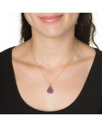 Wendy Mink | Purple Amethyst Roundel Necklace | Lyst