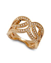 Swarovski - Metallic Clear Crystal Protect Ring - Lyst