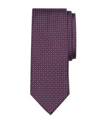 Brooks Brothers - Purple Micro Circle Square Tie for Men - Lyst