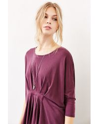 Silence + Noise | Purple Asher Belted Top | Lyst