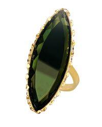 Lana Jewelry - Green 14k Midnight Marquise Ring - Lyst