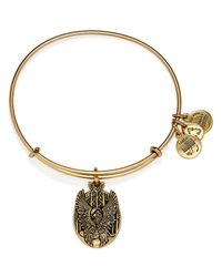ALEX AND ANI | Metallic Guardian Of Love Expandable Wire Bracelet | Lyst